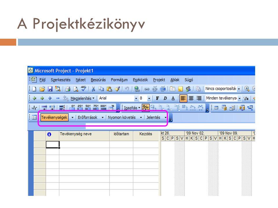 A Projektkézikönyv