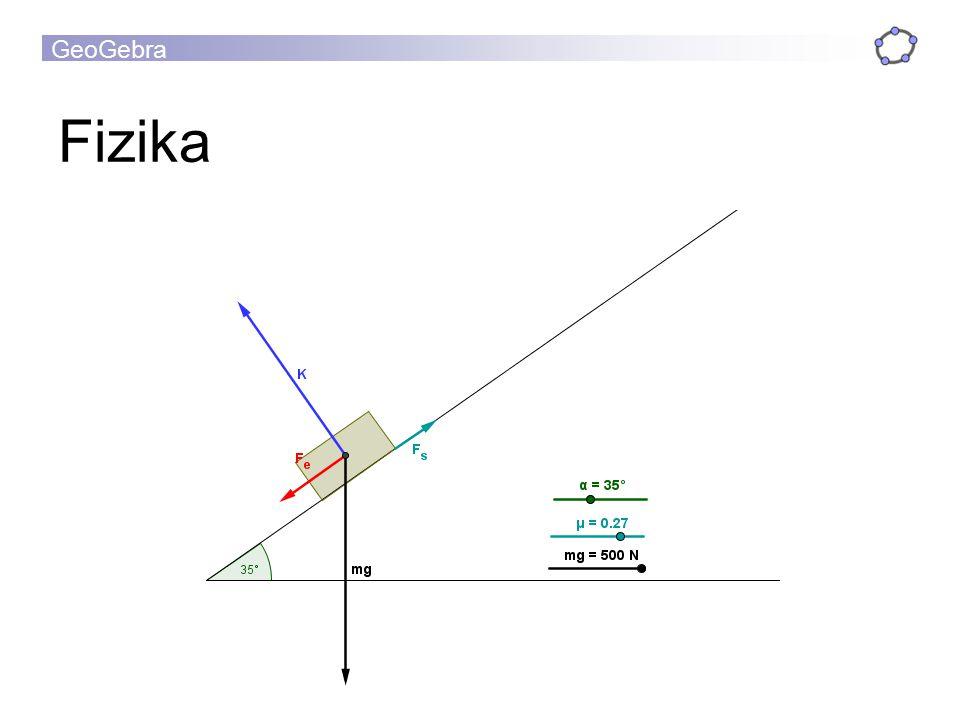 GeoGebra Fizika