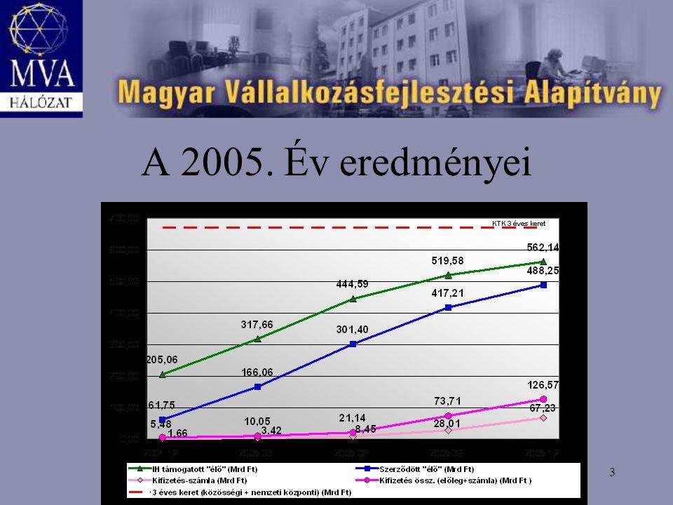 3 A 2005. Év eredményei