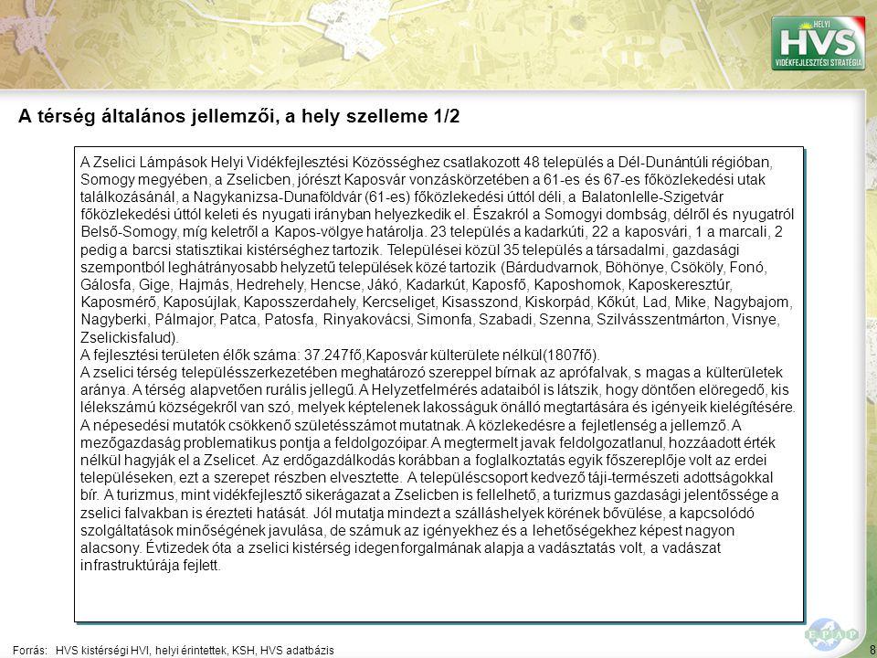 8 A Zselici Lámpások Helyi Vidékfejlesztési Közösséghez csatlakozott 48 település a Dél-Dunántúli régióban, Somogy megyében, a Zselicben, jórészt Kaposvár vonzáskörzetében a 61-es és 67-es főközlekedési utak találkozásánál, a Nagykanizsa-Dunaföldvár (61-es) főközlekedési úttól déli, a Balatonlelle-Szigetvár főközlekedési úttól keleti és nyugati irányban helyezkedik el.