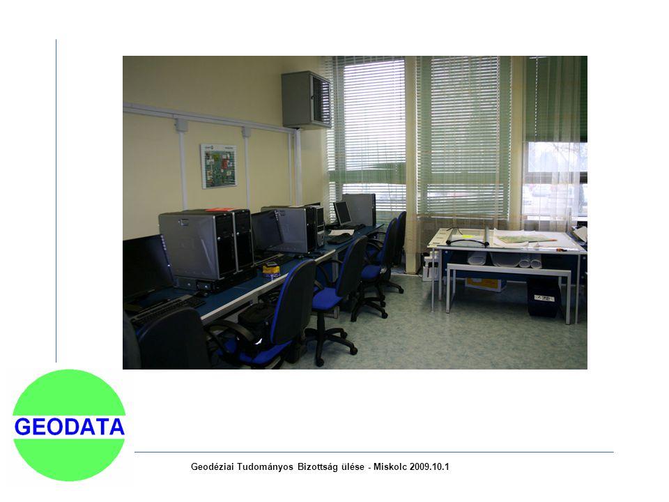 Geodéziai Tudományos Bizottság ülése - Miskolc 2009.10.1