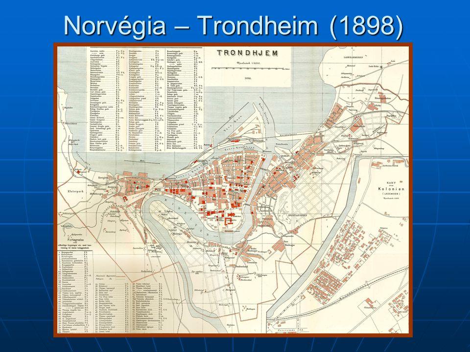 Norvégia – Trondheim (1898)