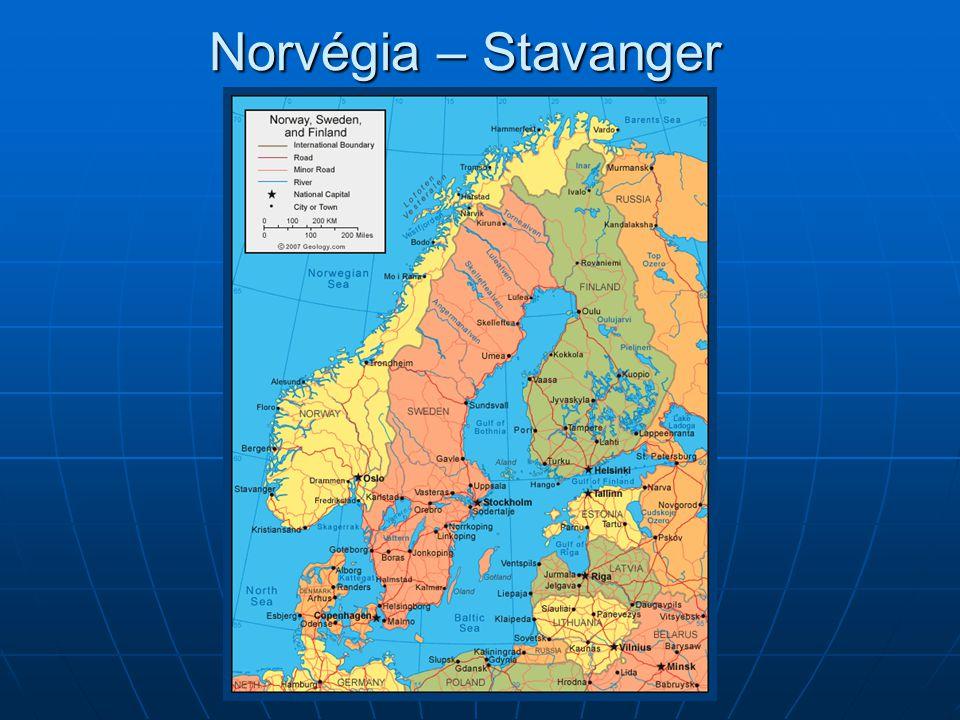 Norvégia – Stavanger