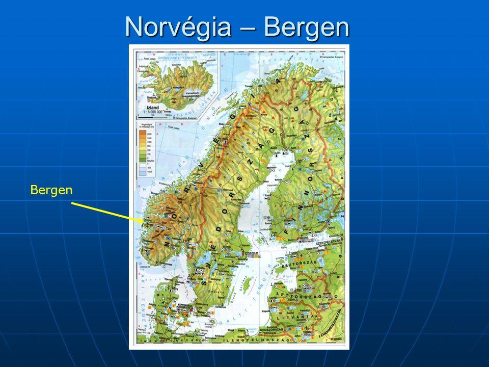 Norvégia – Bergen Bergen
