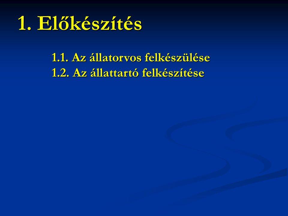 1.1.1.Kamarai működési engedély (pl. IBR oltás, PRRS oltás) (pl.