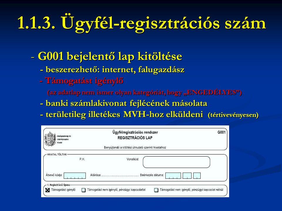 - G001 bejelentő lap kitöltése - beszerezhető: internet, falugazdász - beszerezhető: internet, falugazdász - Támogatást igénylő - Támogatást igénylő (
