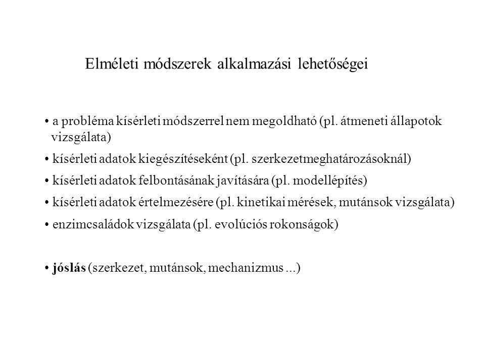 Szerkezeti biológiai problémák 1.