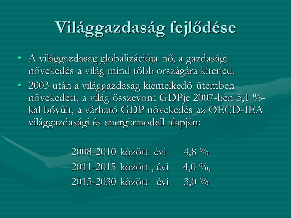 Világgazdaság fejlődése A világgazdaság globalizációja nő, a gazdasági növekedés a világ mind több országára kiterjed.A világgazdaság globalizációja nő, a gazdasági növekedés a világ mind több országára kiterjed.