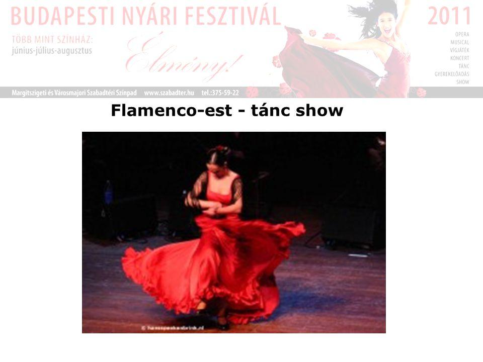 Flamenco-est - tánc show