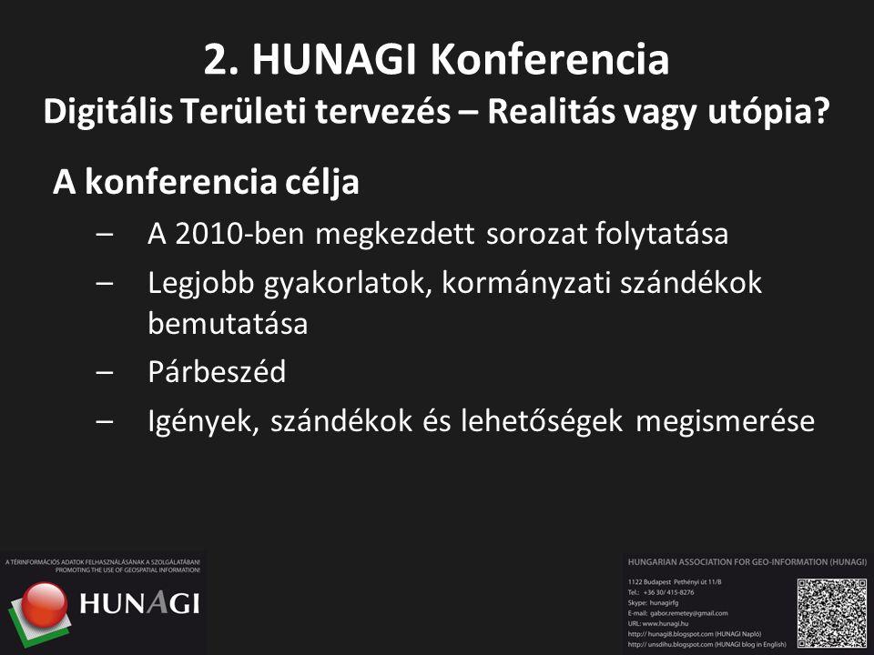 A konferencia célja –A 2010-ben megkezdett sorozat folytatása –Legjobb gyakorlatok, kormányzati szándékok bemutatása –Párbeszéd –Igények, szándékok és