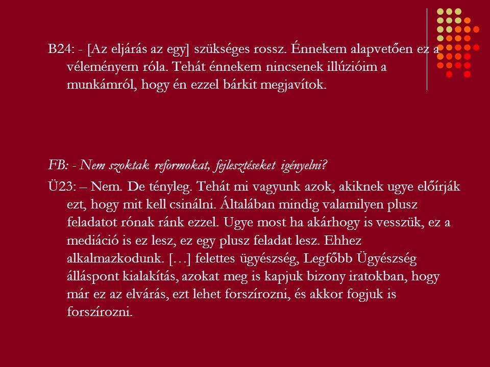 B) Napi munkavégzés II.