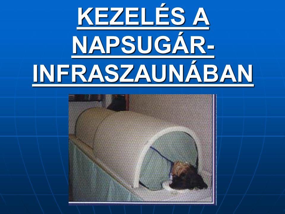 KEZELÉS A NAPSUGÁR- INFRASZAUNÁBAN
