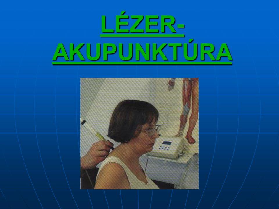 LÉZER- AKUPUNKTÚRA