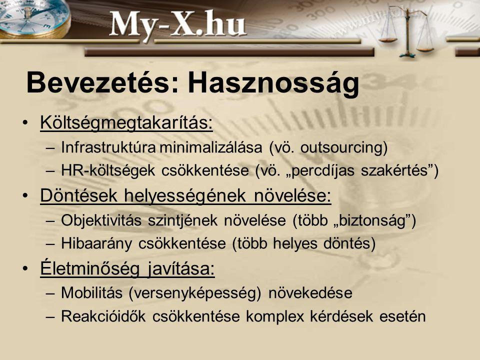 INNOCSEKK 156/2006 Esettanulmány: COCO_online A becsült ( ) értékek fontosak.