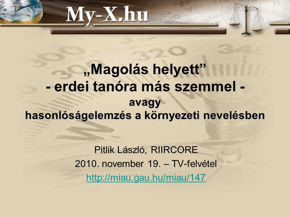 INNOCSEKK 156/2006 Tesztelés