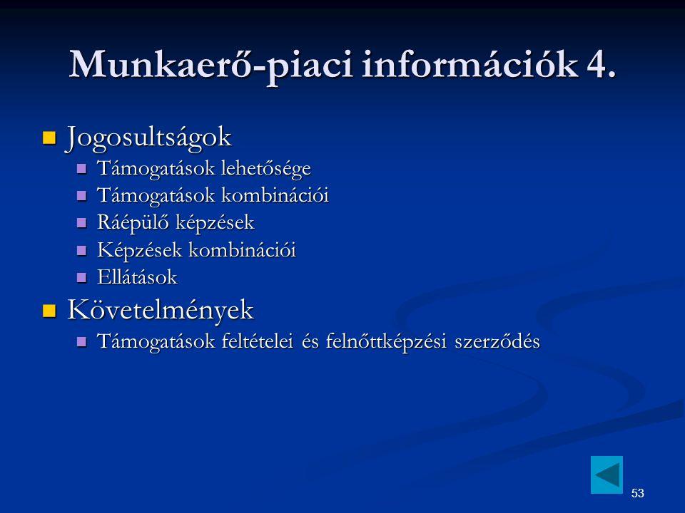 53 Munkaerő-piaci információk 4.