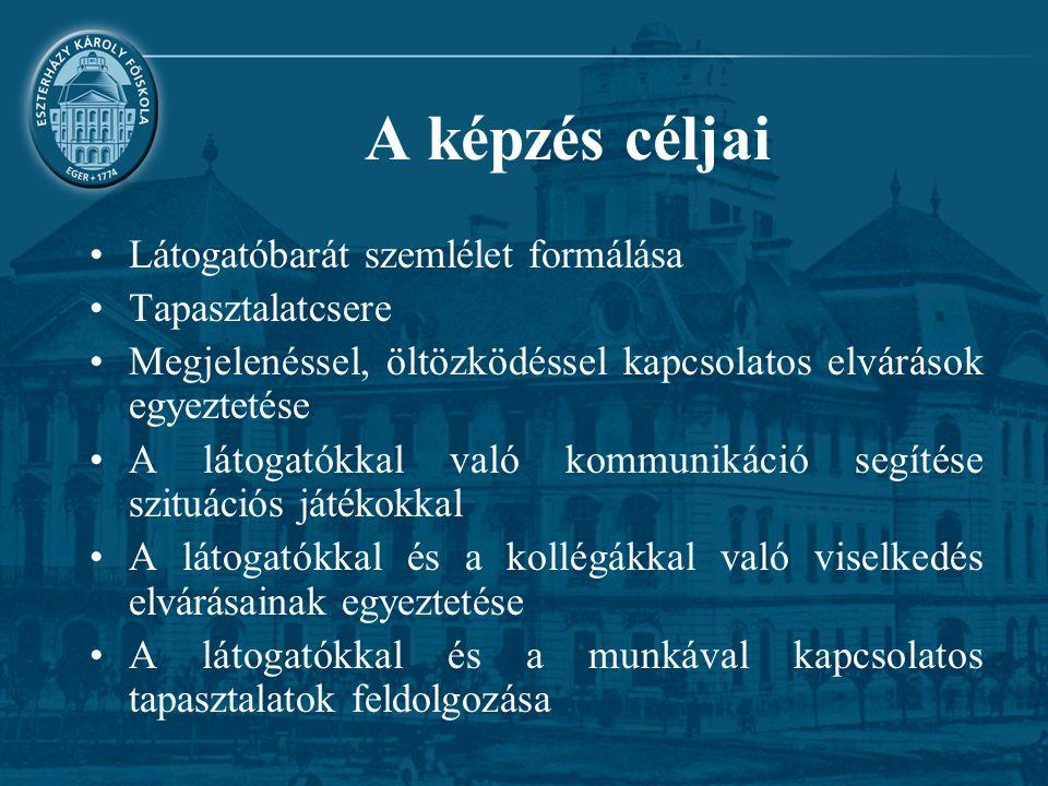 A képzők Előadó: dr.Juhász Erika Trénerek: –dr.