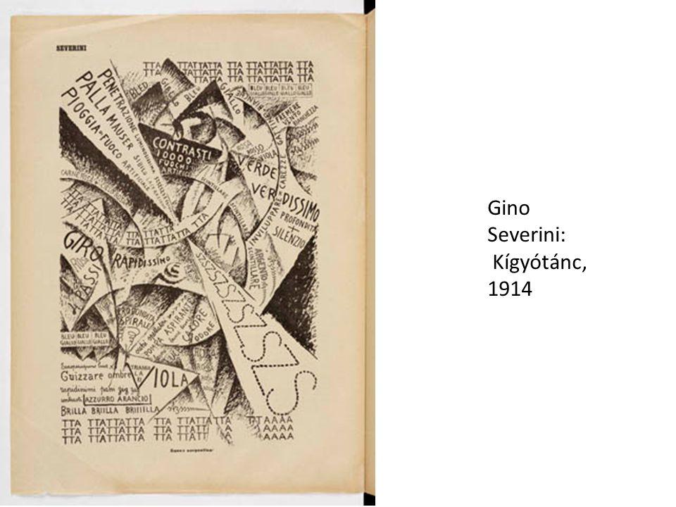 Gino Severini: Kígyótánc, 1914