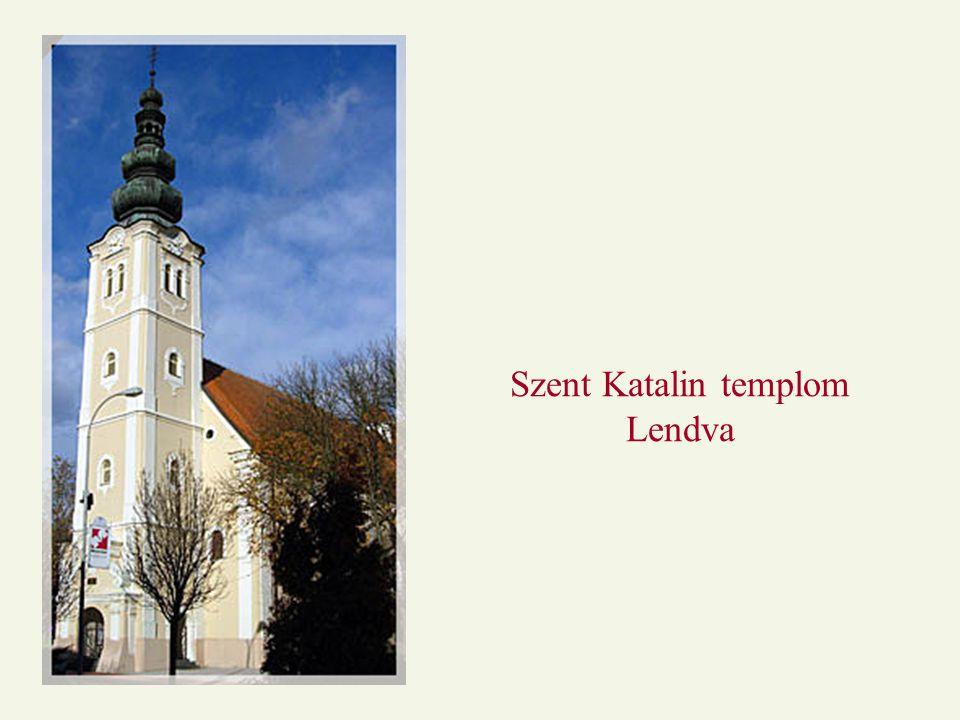 Szent Katalin templom Lendva