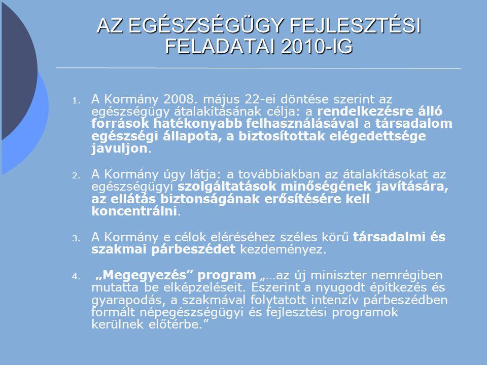 3 A KORMÁNY DÖNTÉSE A TÁRSADALMI VITÁBAN A Kormány 2008.