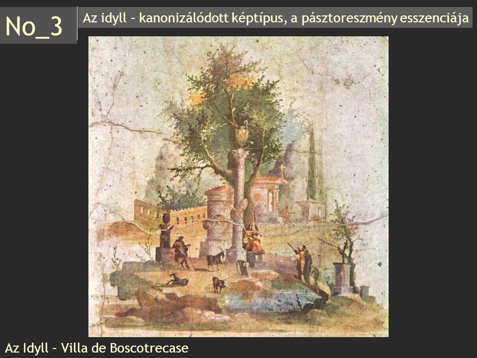 Az idyll – kanonizálódott képtípus, a pásztoreszmény esszenciája No_3 Az Idyll – Villa de Boscotrecase