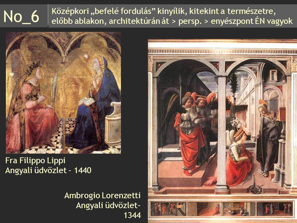 """Középkori """"befelé fordulás"""" kinyílik, kitekint a természetre, előbb ablakon, architektúrán át > persp. > enyészpont ÉN vagyok No_6 Ambrogio Lorenzetti"""