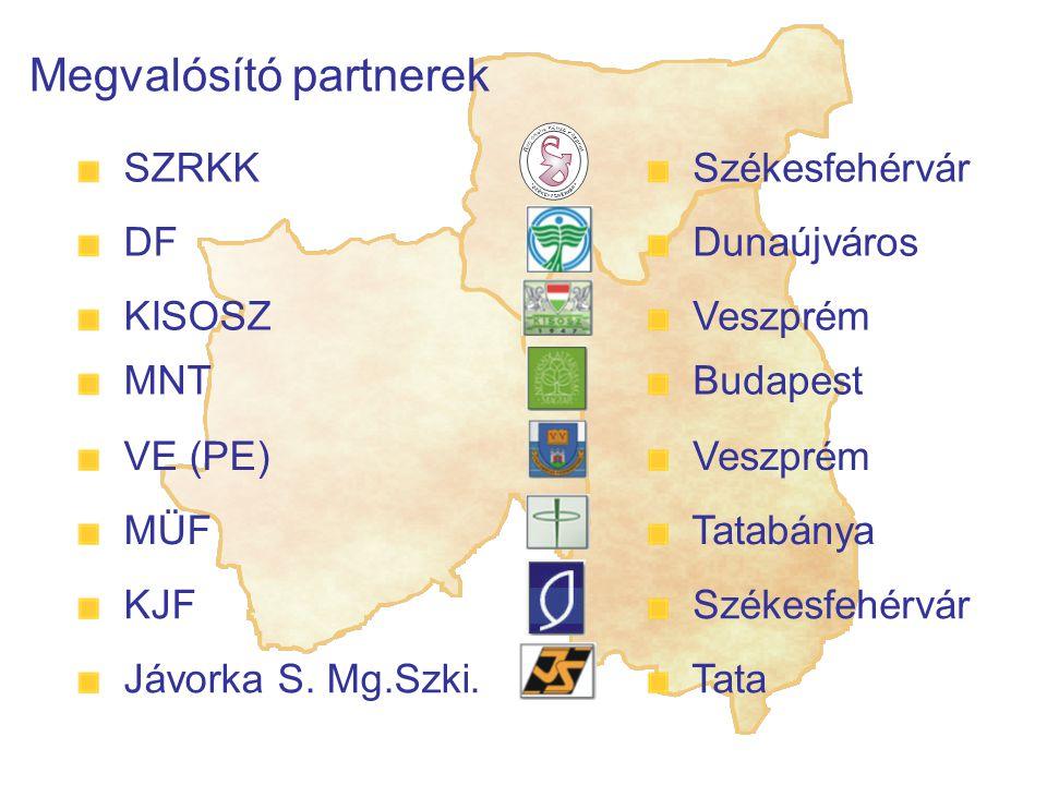 Megvalósító partnerek Jávorka S.Mg.Szki.