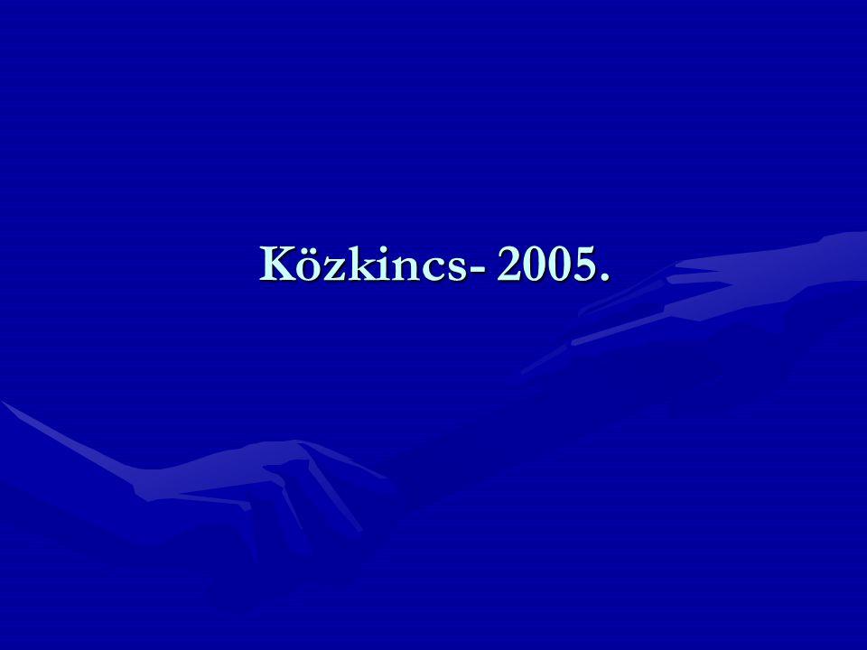 Közkincs- 2005.
