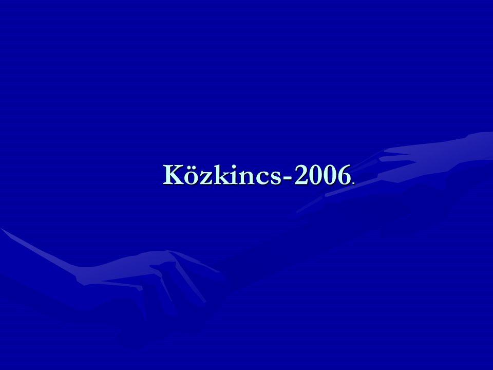 Közkincs- 2006.