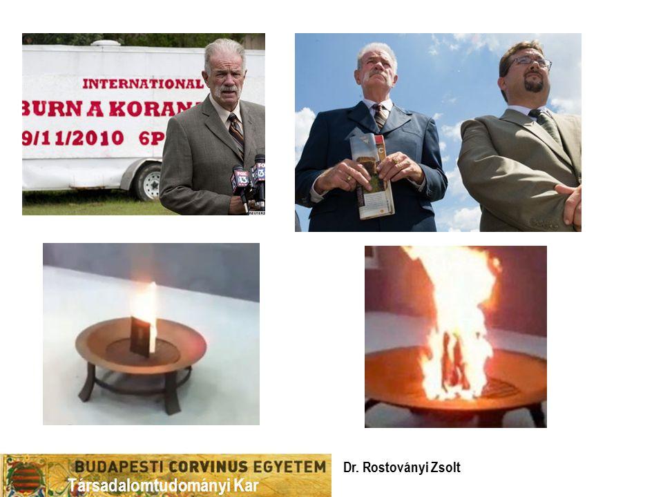 Társadalomtudományi Kar Dr. Rostoványi Zsolt