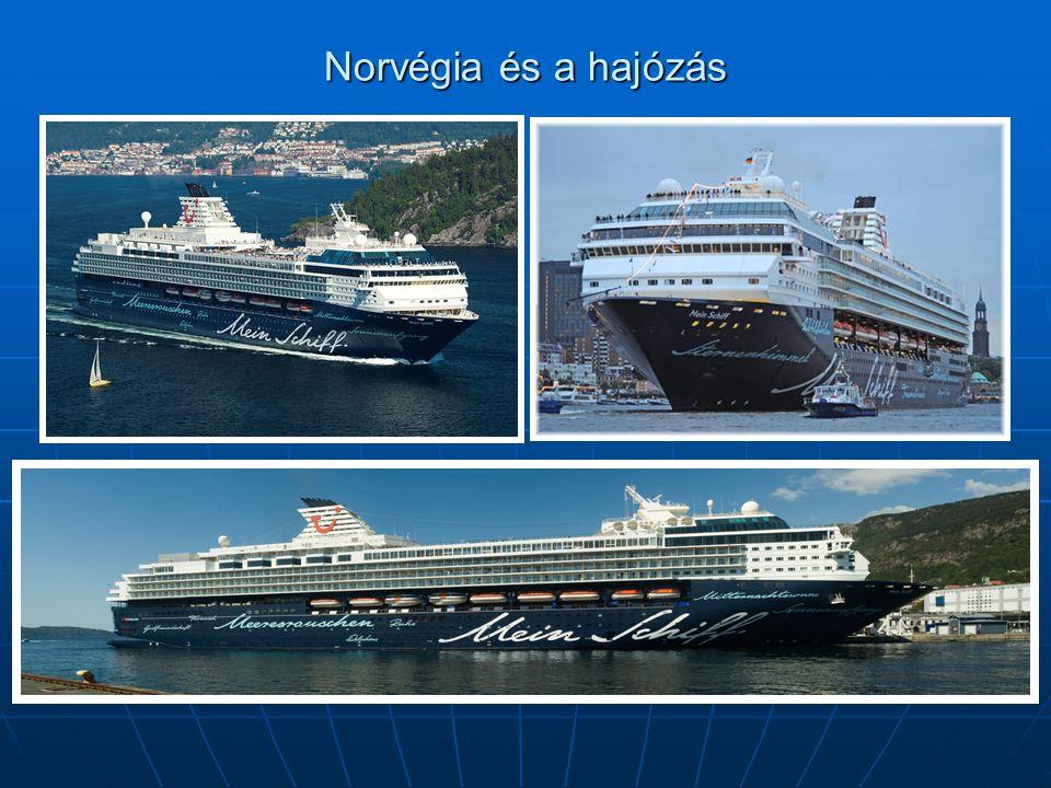 Norvégia és a hajózás