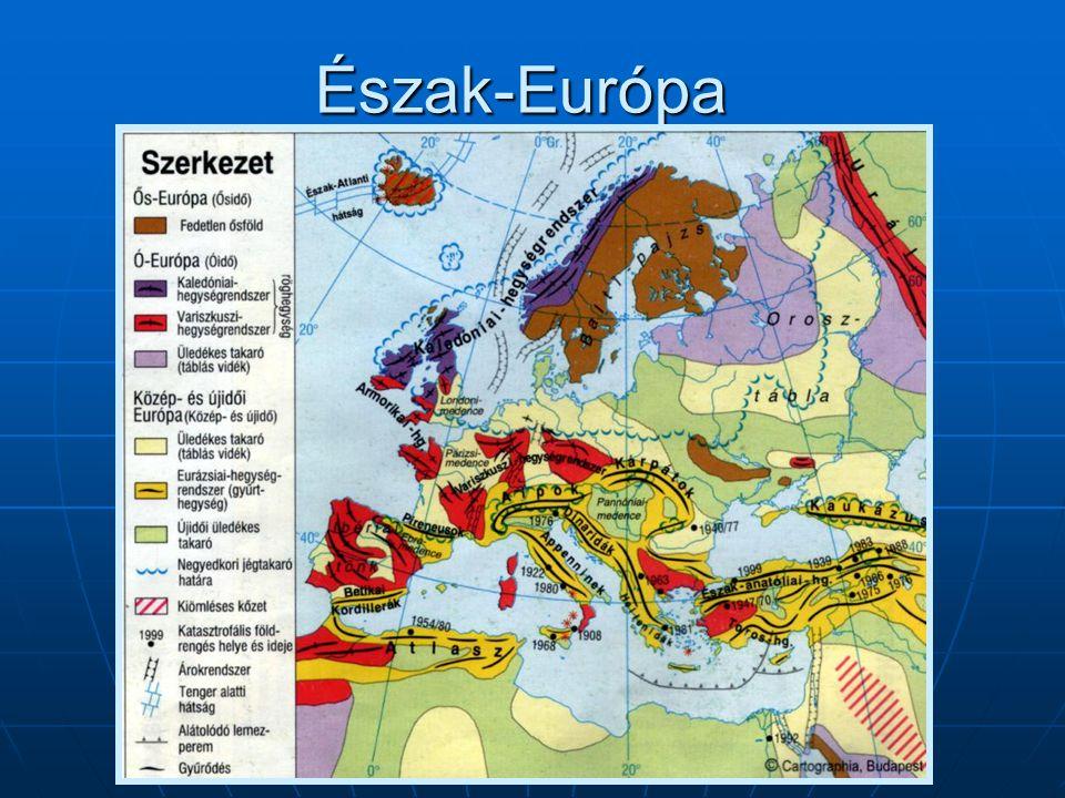 Észak-Európa – Ellenőrző kérdések I.1. Melyek az észak-európai országok.