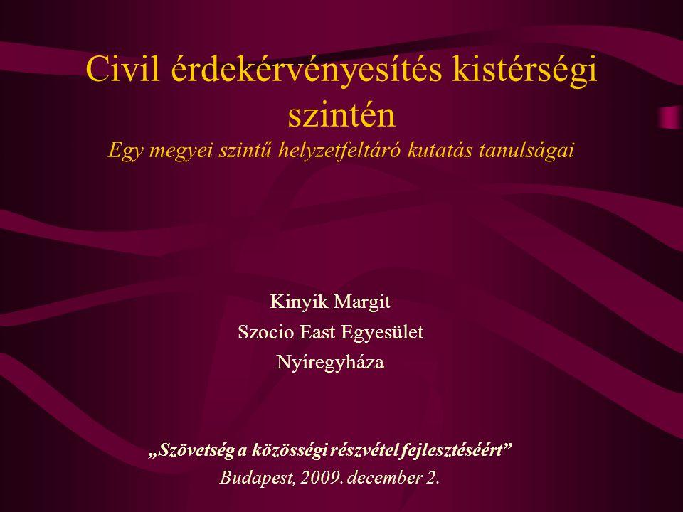 """A """"jó kormányzás felé… Önkormányzati reformok II."""