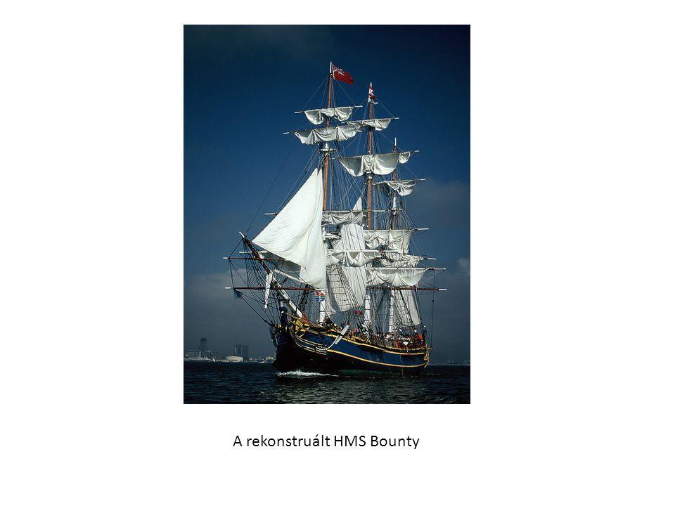 A rekonstruált HMS Bounty