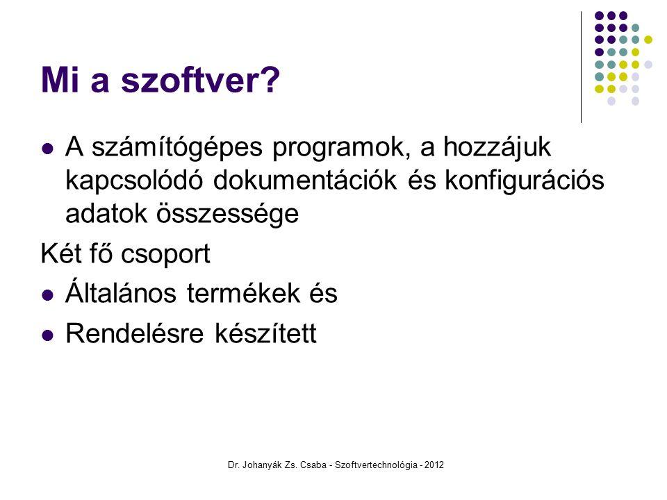 Objektum orientált szoftverfejlesztési módszertanok OMT Booch RUP Dr.