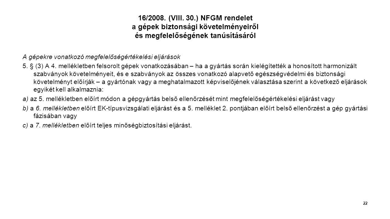 16/2008.(VIII.