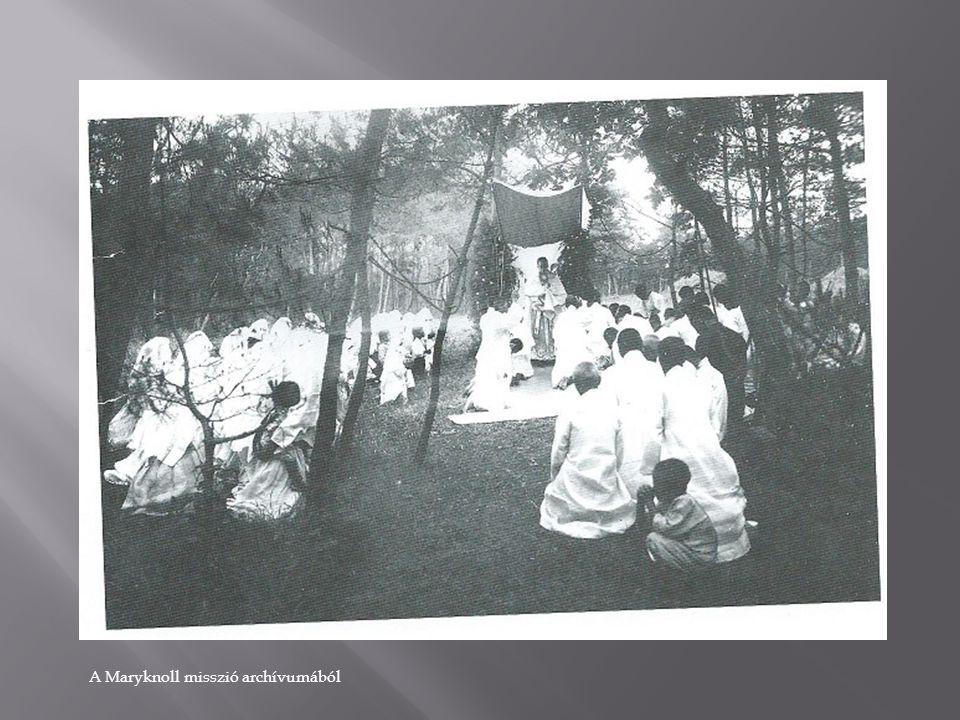 A Maryknoll misszió archívumából