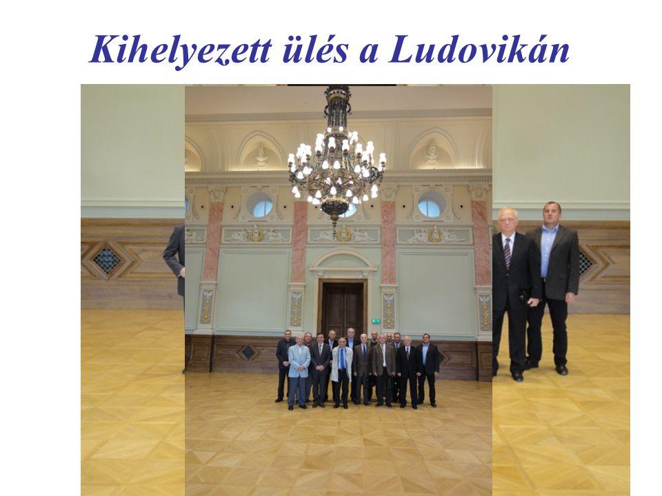 Kihelyezett ülés a Ludovikán