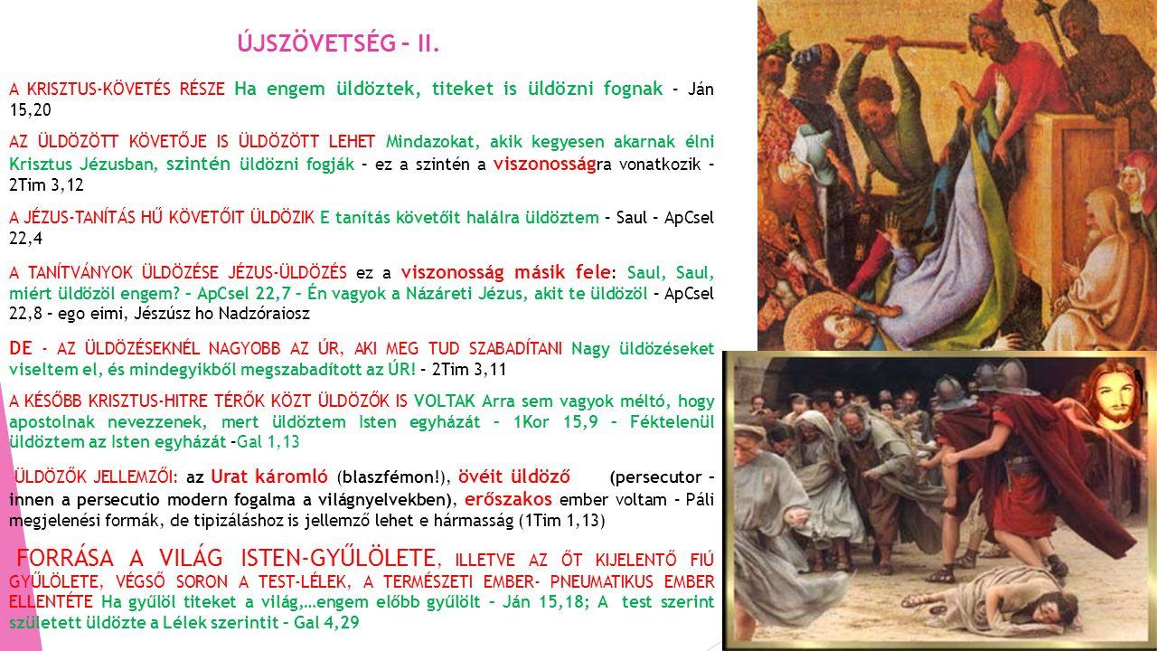 ÚJSZÖVETSÉG – II.