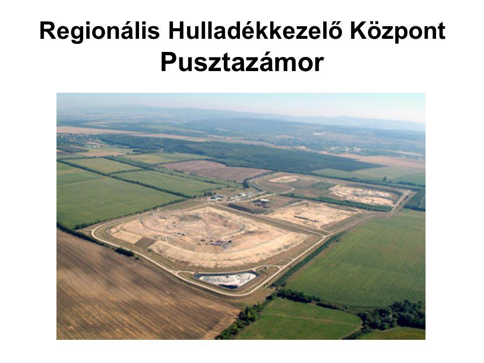 Regionális Hulladékkezelő Központ Pusztazámor
