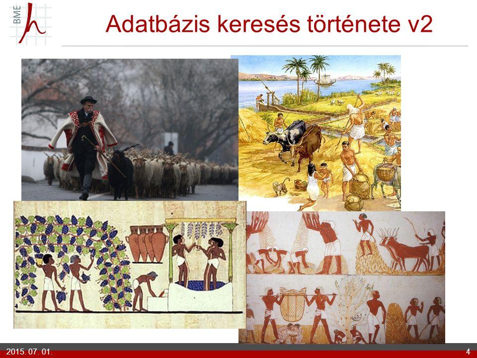 Adatbázis keresés története v2 2015. 07. 01.4