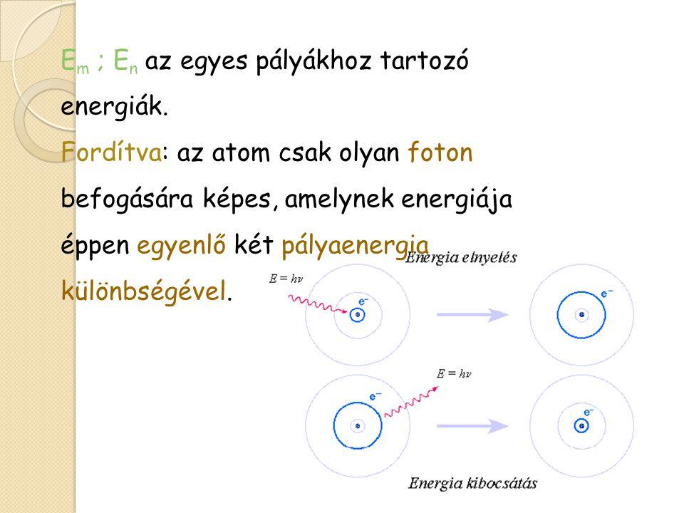 Az atomok hullám modellje Tizenöt évvel Rutherford mérései után Werner Heisenberg (1925), Erwin Schrödinger (1926) munkássága nyomán kialakult az atomok hullámmodellje.