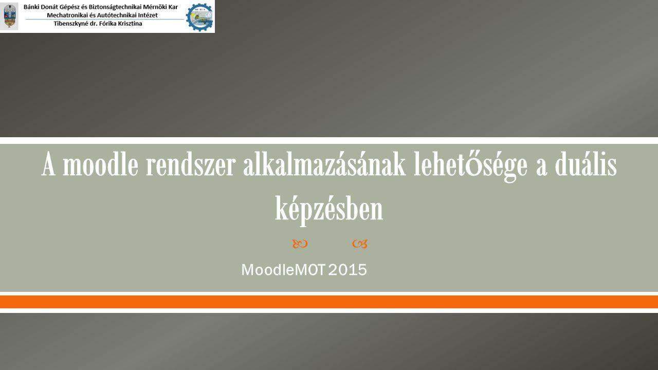  MoodleMOT 2015