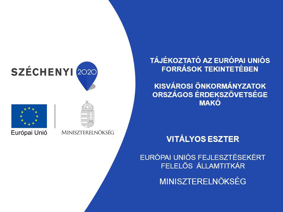 Áttekintés Partnerségi Megállapodás; 2014-2020-as európai uniós programozási időszak egyes operatív programjai közötti forrásmegosztás; 2014-2020-as programozási időszak szabályozása; Intézményrendszer; Önkormányzatok pályázati lehetőségei; Újdonságok; 2007-2013-as időszak zárása