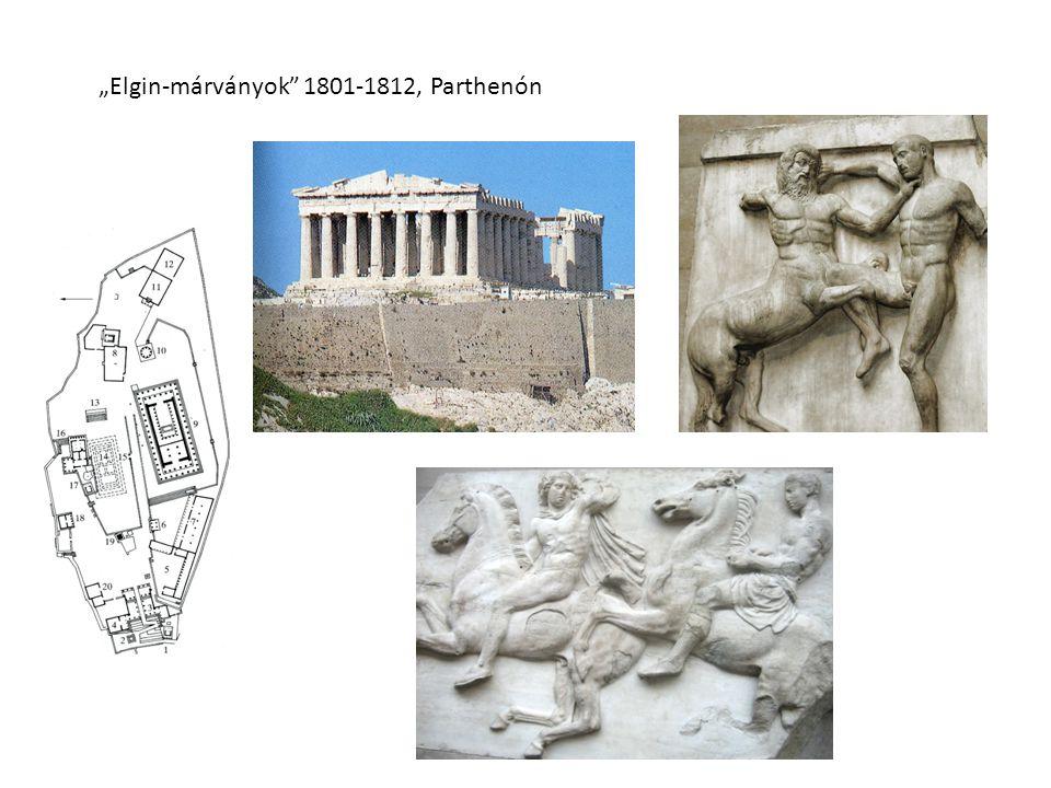 """""""Elgin-márványok"""" 1801-1812, Parthenón"""