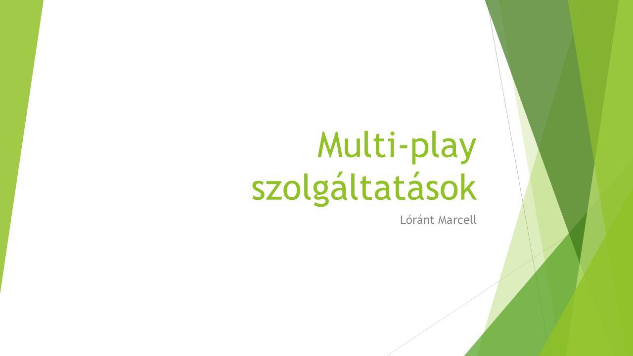 Multi-play szolgáltatások Lóránt Marcell