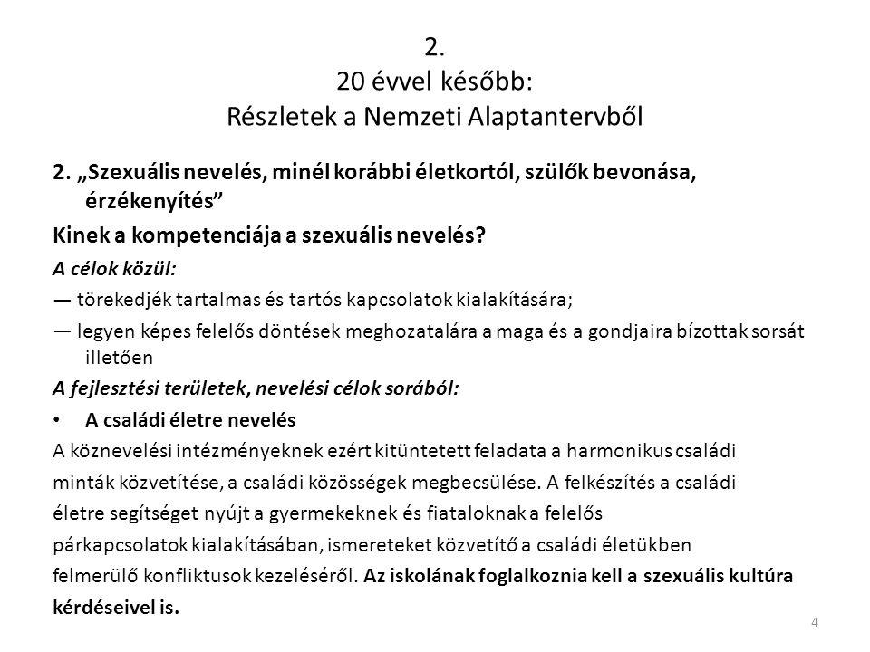 Az önkielégítés fiúknál (onánia) Cél: a cselekvésre rakódott tiltás megszüntetése, feloldása 15