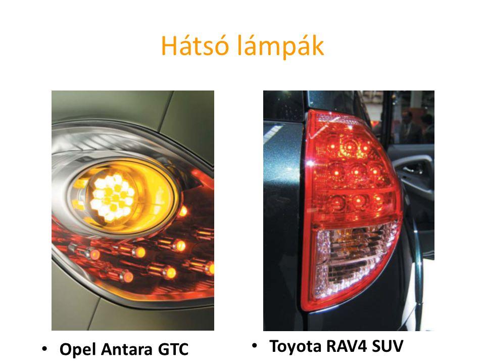 Hátsó lámpák Opel Antara GTC Toyota RAV4 SUV