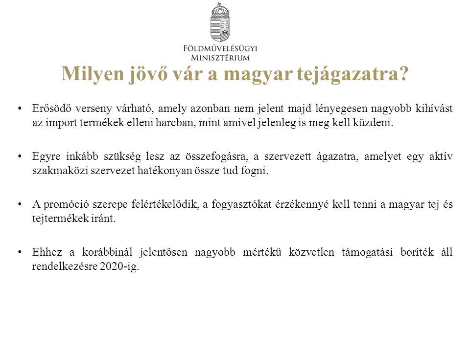 Milyen jövő vár a magyar tejágazatra.