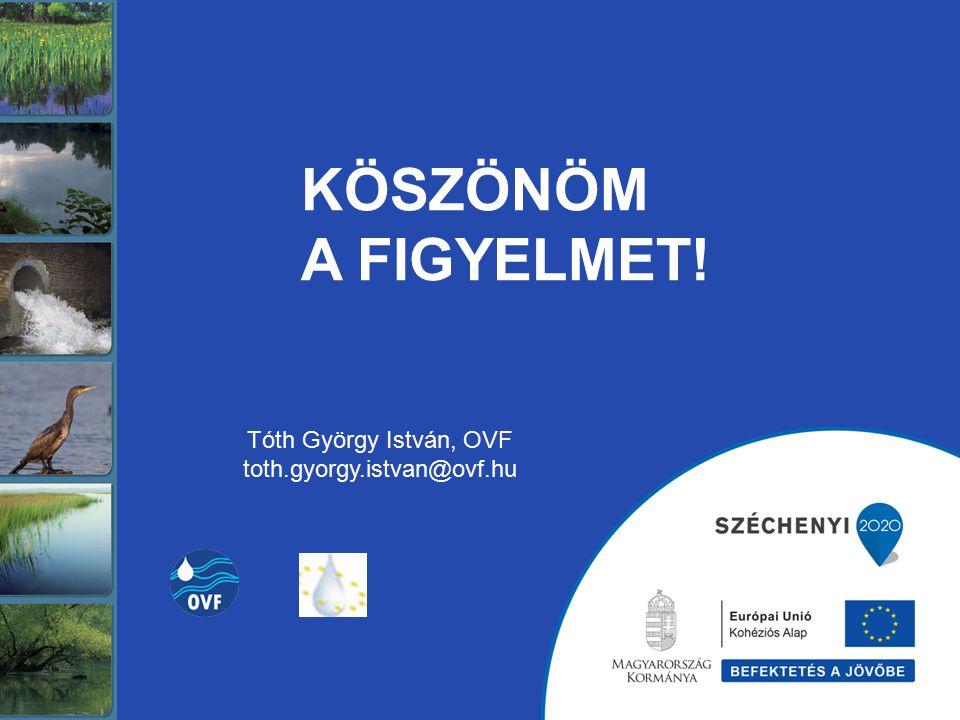 KÖSZÖNÖM A FIGYELMET! Tóth György István, OVF toth.gyorgy.istvan@ovf.hu